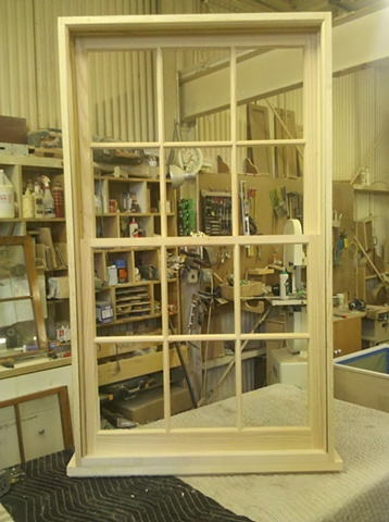 window with jamb/sill