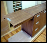 Office Desk (P. Billow Woodworking)