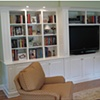 Wall-unit and entertainment center.