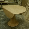 Eco Card Table with leaf