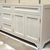 Painted Vanity With Inset Doors