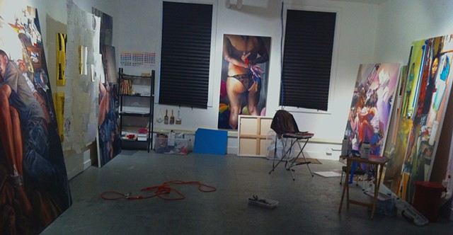 My Studio in 2013