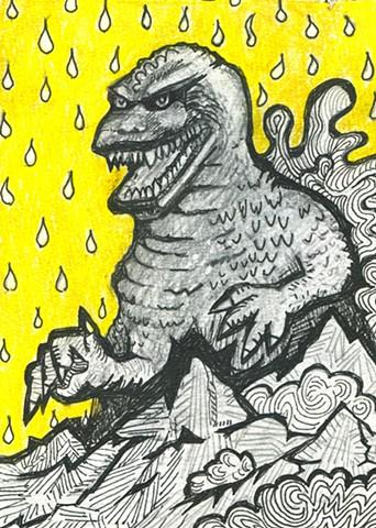 Godzilla by Diane Cionni