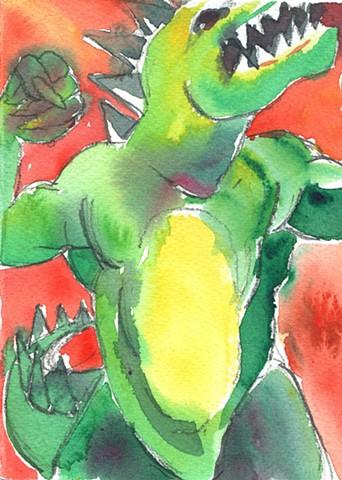 Godzilla by Joan Cox