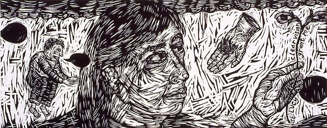 Portrait of the Artist detail 2