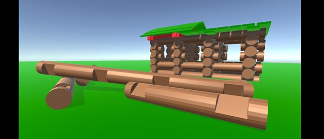 lincoln log simulator