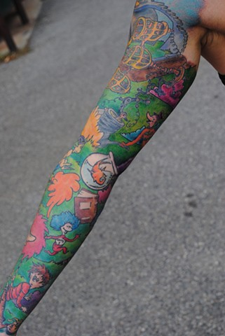 dr seuss sleeve 1