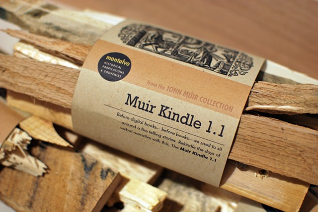 John Muir Collection: Muir Kindle 1.1 2012 A reordering of pallet residue