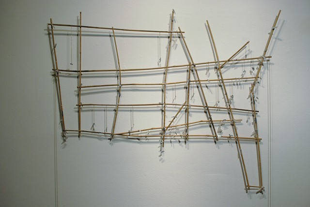 Prih-Sohn Stick Chart (Map of isolation chambers)