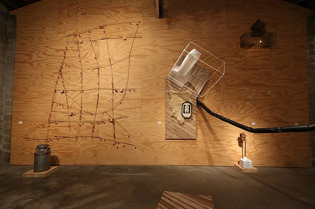 Recologica: A Nacireman Excavation (install view)