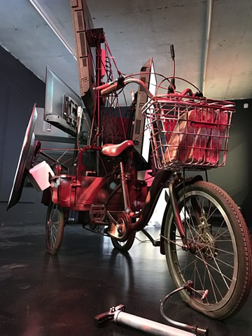 Trike of the Medusa (after Géricault)