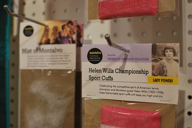 Women of Montalvo Collection: Helen Wills Championship Sports Cuff 2012 Repackaged sweat bands