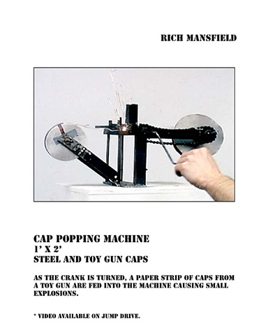 cap popping machine 10000 roll caps