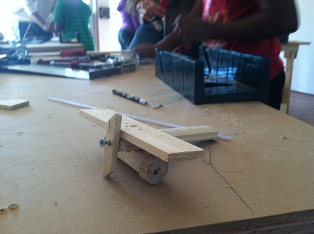 student work airplane