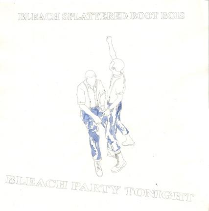 """Beach Splattered Boot Bois- 7"""" Cover Art"""