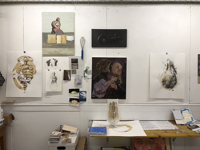 my atelier on 31 of December 2018