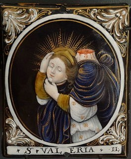 Saint Valeria beheaded