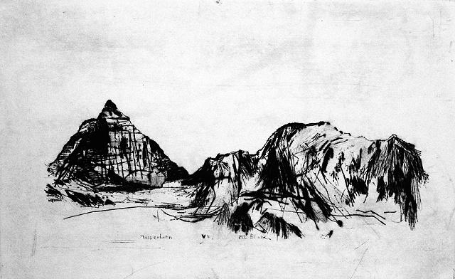 Matterhorn vs Mt Blanc