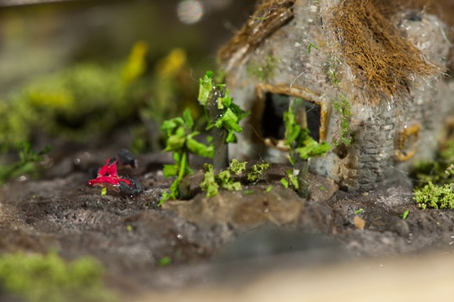 miniature, polymer clay, resin,