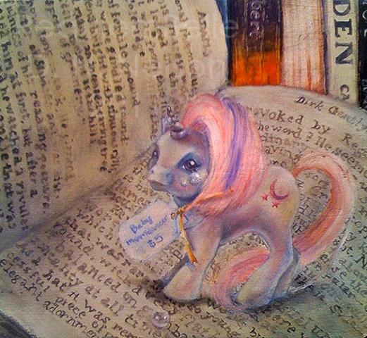 Girls Paint Ponies