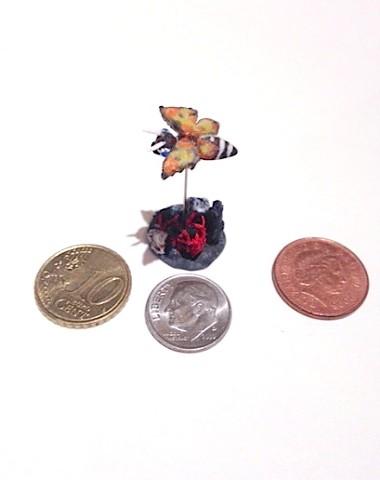 mothra, godzilla, miniatures