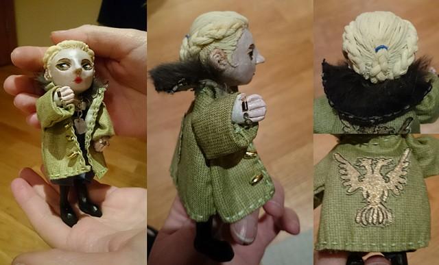 doll, puppet, sasha kaidanovsky, pacific rim, polymer clay