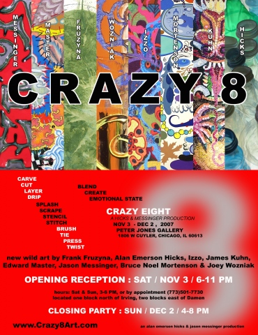 2007 CRAZY 8 POSTER