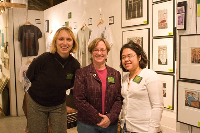 Photo Credit Timmy Samuel - Artists Basia KRol, Judy Zeddies, Johannah Silva