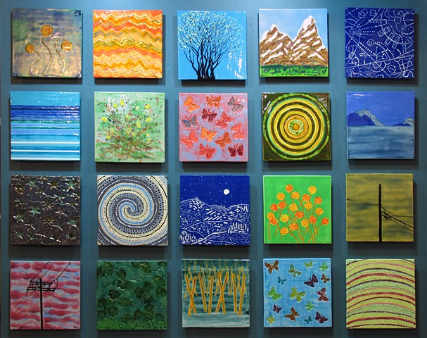 "Near and Far - 20 12""x12"" Tiles"