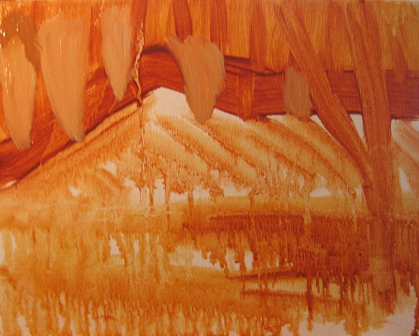 Hill 1 Underpainting