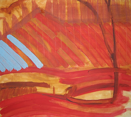 Mendon Ponds 2 Underpainting 1