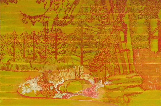 Molly's Garden Underpainting 3