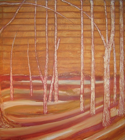 Mendon Ponds 1 Underpainting 2