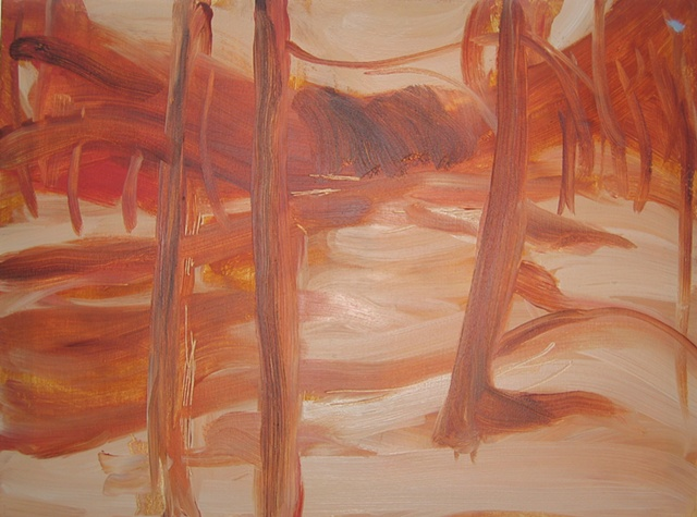 River 2 Underpainting