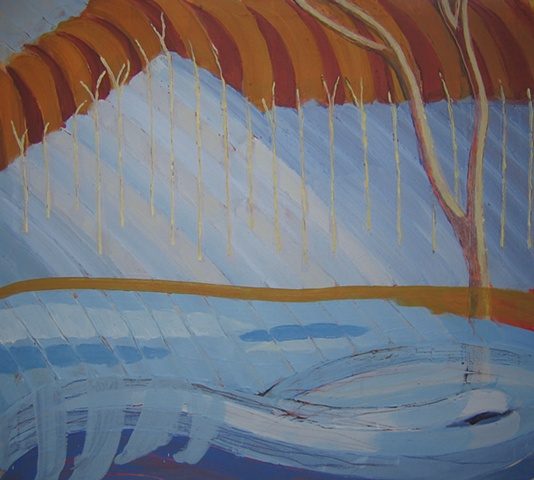 Mendon Ponds 2 Underpainting 2
