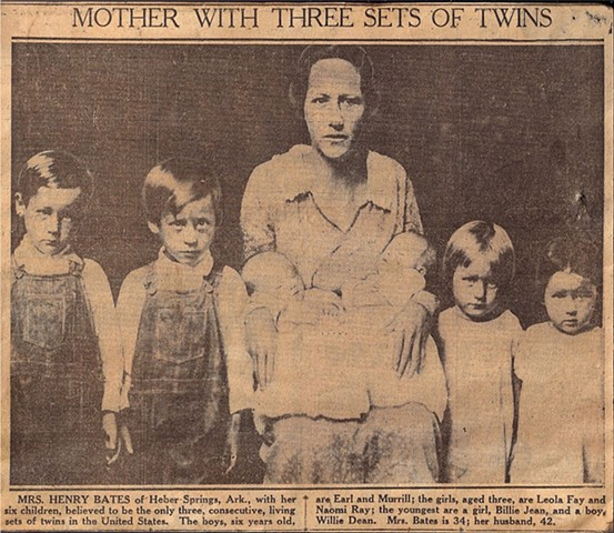 Mother with Three Sets of Twins DAVIDRUHLMAN