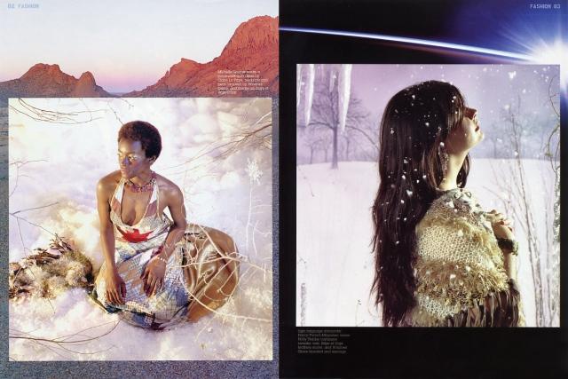 Winter Wonderland fashion spread