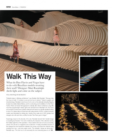Surface magazine: runway design