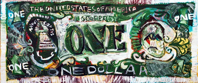One dollar (in God we trust)
