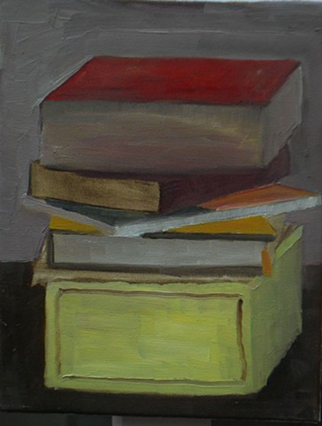 Stacked Books III
