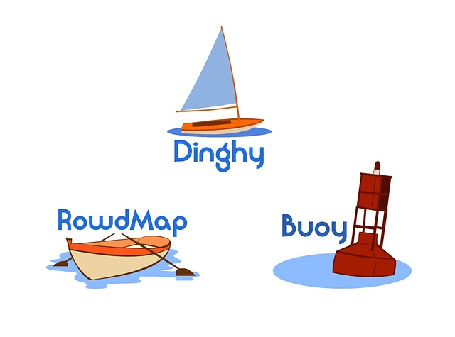 Logos for RowdMap