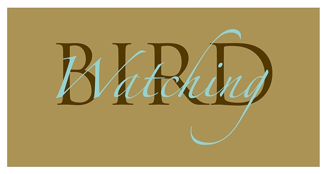 """Bird Watching"" Logotype"