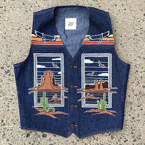 Desert Themed Vest