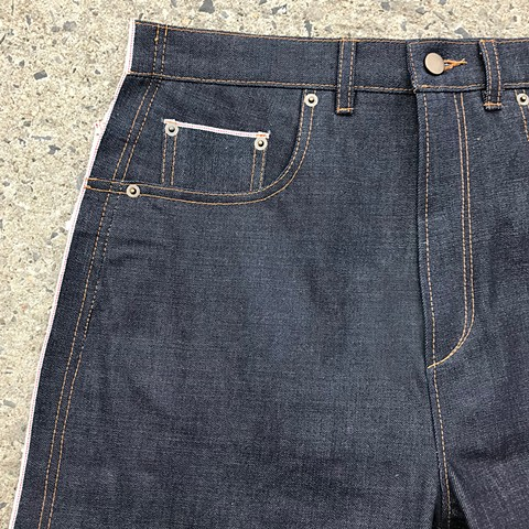 Selvedge Out Jeans Detail