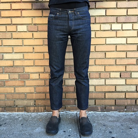 Selvedge Cone Mills Raw Denim Jeans