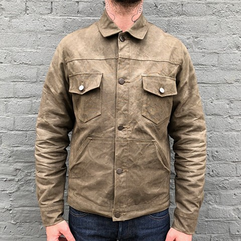 Waxed Canvas Work Jacket