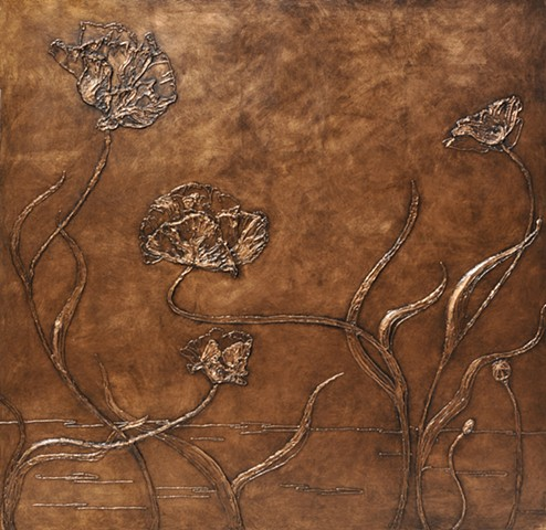 Copper Bas Relief SOLD