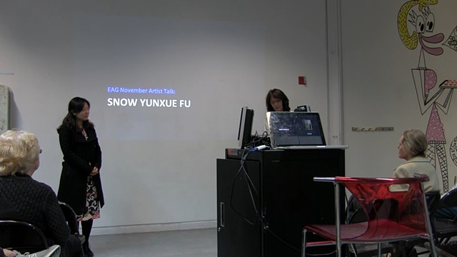 Snow Yunxue Fu's Artist Lecture at the Elmhurst Art Museum
