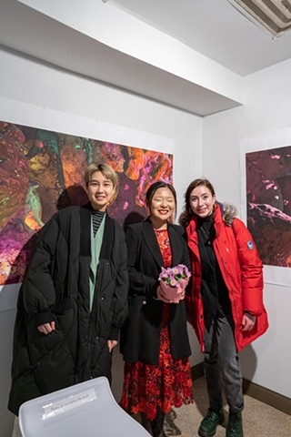 Solo Show Opening Guests
