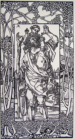 St. Christopher after Durer